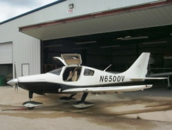 Completed major structural composite repair on Columbia 350 by Mansberger Aircraft